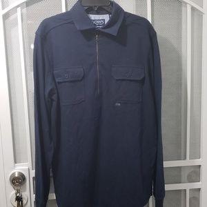 CHAPS-long sleeve shirt Large